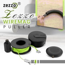 2021 Zezzo Wiremag Puller Magnetische Snap Draht Guider Bequem Draht Kabel Laufen Puller Gerät Einfach Verwenden Hand Werkzeug
