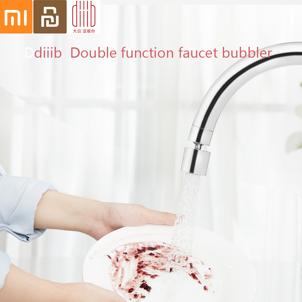 Xiaomi Diiib Dabai Double Function Kitchen Faucet Bubbler Water Diffuser Aerator Water Saving Filter Head Nozzle Tap Connector