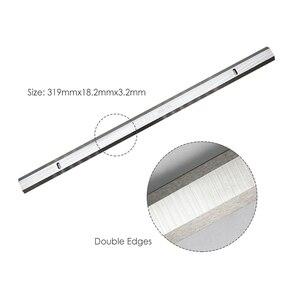 Image 2 - HSS פלנר להבי עובי פלנר סכין 319x18.2x3.2mm עבור Ryobi ETP1531AK JET JWP 12 GMC MA1931 CT 340 קוברה
