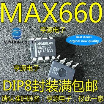 5Pcs MAX660CPA MAX660EPA DIP8 MAX660 Switching regulator chip in stock  100% new and original