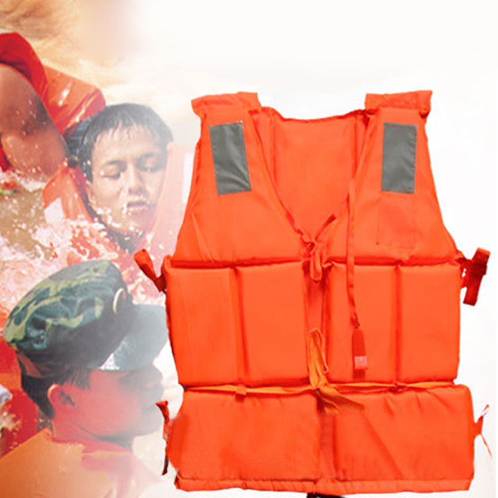1Pcs Professional Safety Swimming Life Jacket Vest Foam Colete Salva-vidas With SOS Whistle For Water Sports Drifting Surfing