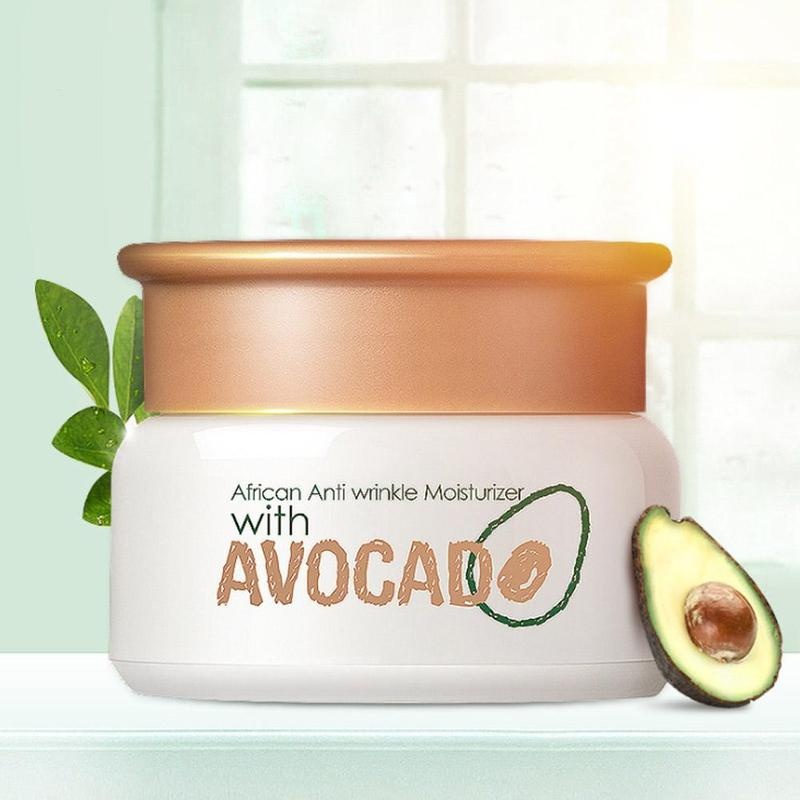 LAIKOU Avocado Face Cream Collagen Anti-freeze Cracking Facial Moisturizer Cream Skin Soothing & Hydrating & Brightening Cream