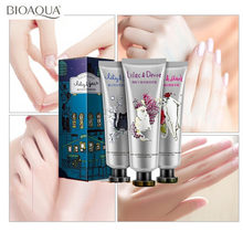 цена на 3pcs/set BIOAQUA kitten Hand Cream Moisturizing Hydra Moisturizing Nourishing Anti-chapping Whitening Skin Care Hand Lotion