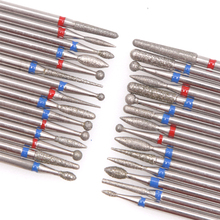 4PCS Diamond Cutters for Manicure Set Silicon Ceramic Stone Nail Drill Bits Set Rotary Cuticle Burr Milling Cutters for Pedicure