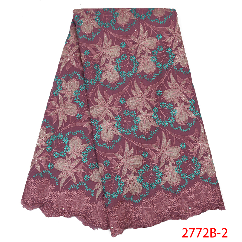 Best Selling Swiss Voile Laces,African Dry Cotton Lace Fabric 2019, Swiss Voile Laces In Switzerland For Dresses KS2772B-2