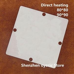 Image 1 - Direct heating 80*80 90*90   AU1250 500MGF    BGA  Stencil Template