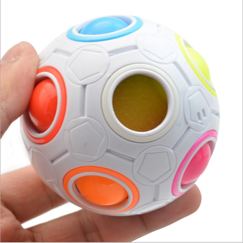 Lefun Magic Ball Decompression Cube Finger Desk Toys Office Relaxation Stress Toys Puzzle Balls Trending Toys for Adults Kids
