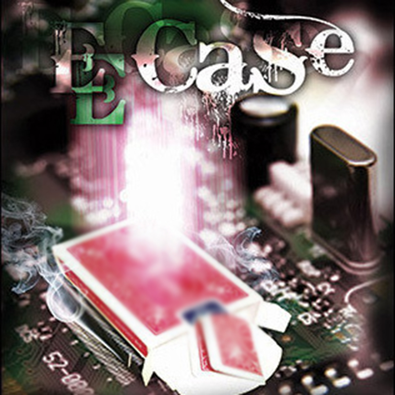 E-Case (DVD + Gimmick) Magic Tricks - The Electronic Signed Card To Case By Mark Mason- Magic Trick Stage Accessories Mentalism image
