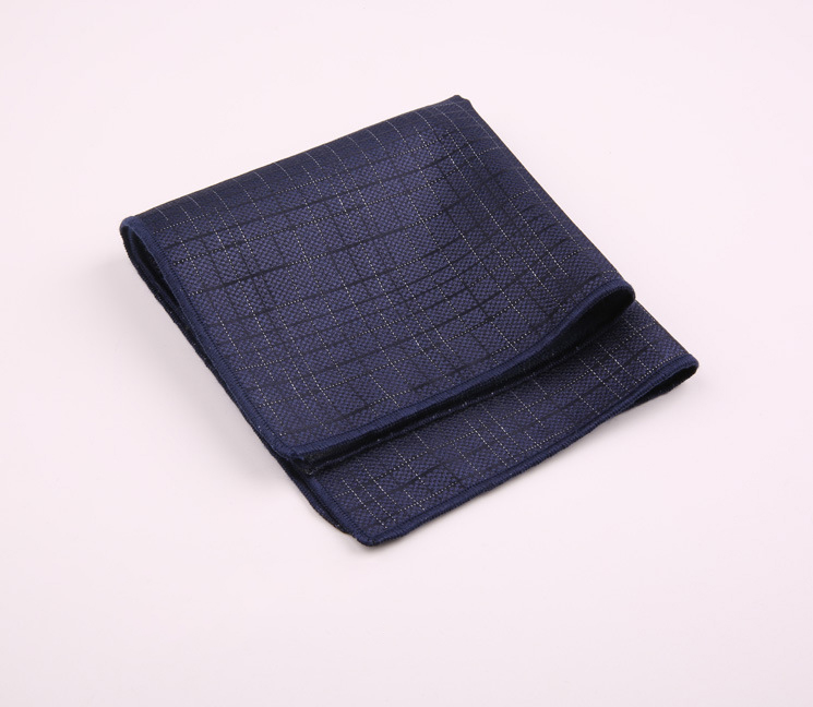 Small Square Men's Fashion Joker Polyester Personality Trend Accessories Retro Pattern A Variety Of Men's Pocket Towel