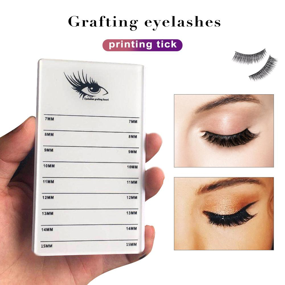 Individual Eyelash Extension Hand Plate Holder Acrylic Pallet Eyelash Extension Glue Plate For Eyelashes Extension