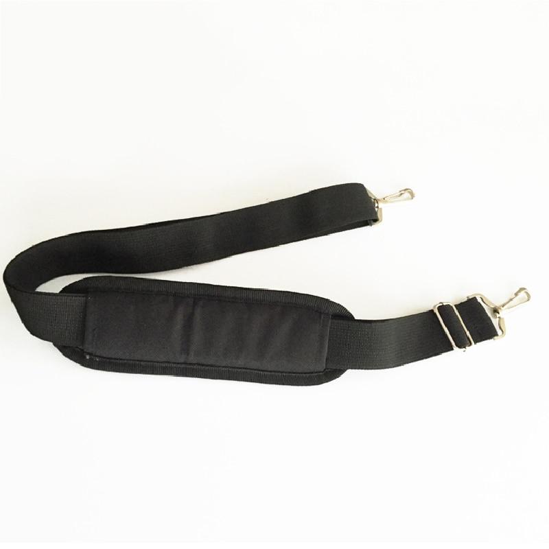 Adjustable Black Nylon Bag Strap For Men Bags Strong Shoulder Strap Men Briefcase Laptop Bag Belt Length Bag Accessory