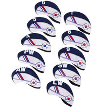 Protector Head-Cover-Accessories Iron Club Exquisite 10pcs/Set