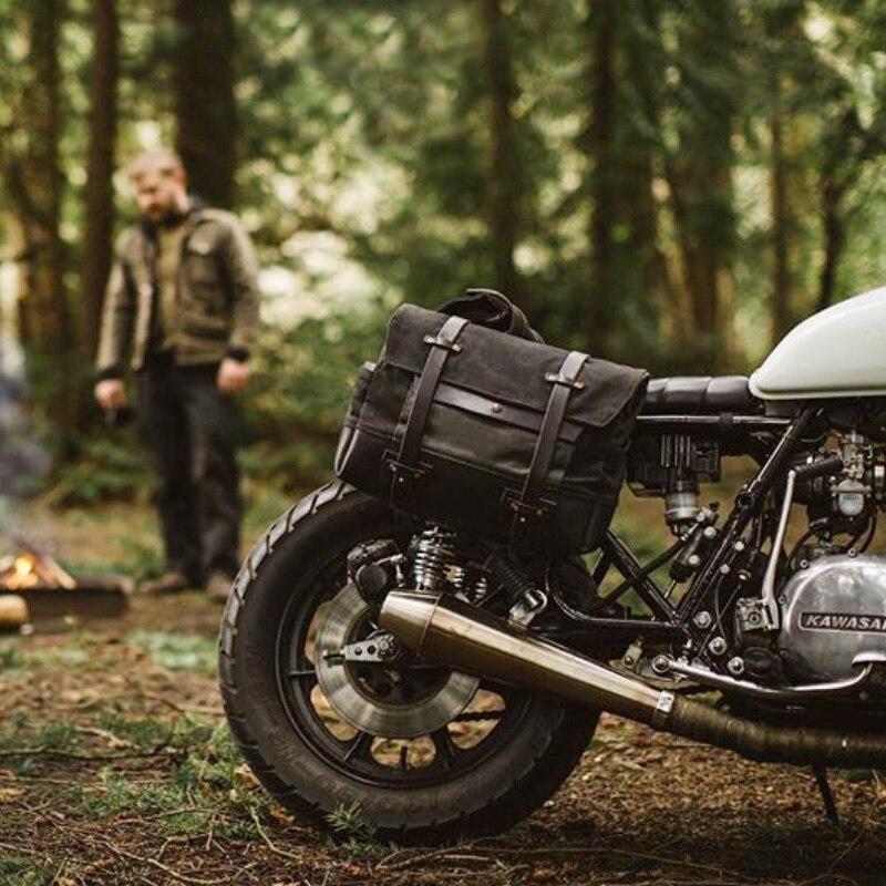 Ретро мотоциклетная сумка для инструментов Водонепроницаемая Боковая Сумка мотоциклетная сумка Рыцарь сумка через плечо сумка для шлема мотоциклетная сумка        АлиЭкспресс