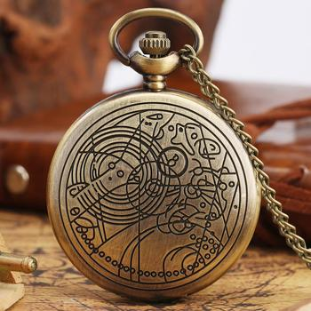 Vintage Quartz Pocket Watch for Men Extension Bronze Necklace Pendant Watches Movies Theme Gifts With Necklace Chain Women Men game of thrones stark house symbol vintage pocket watch necklace direwolf pattern quartz pocket watches gifts for men women