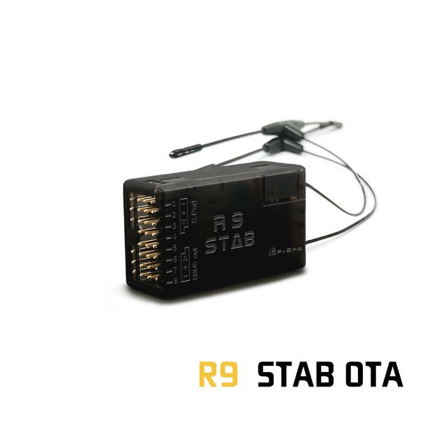Frsky R9 Stab OTA 900m long-range stable receiver low-latency drone receiver with T-shaped antenna RC helicopter aircraft parts