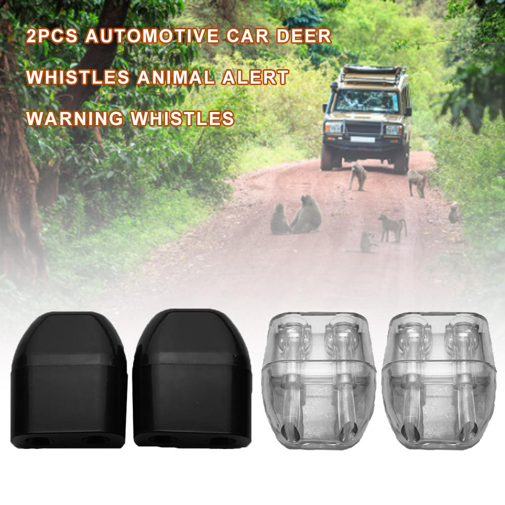 4PCS Ultrasonic Car Deer Alert Whistle Warning Animal Repeller Auto Safety Save