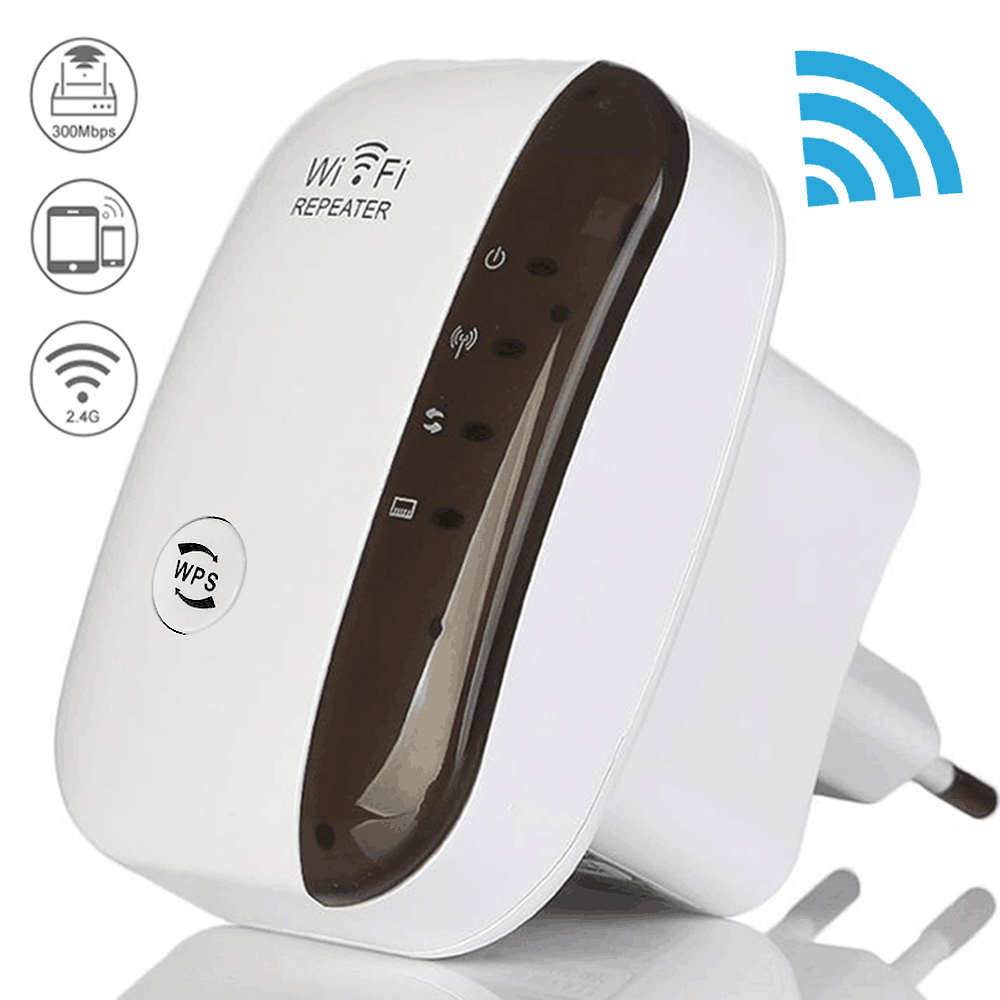 Wireless Wifi Repeater Extender-Router Signal-Amplifier 300mbps Ultraboost-Access-Point title=
