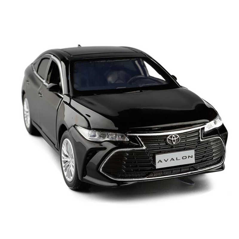 Toyota Avalon 1:32 Metal Diecast Model Car Toy Collection Sound/&Light Feel Wheel
