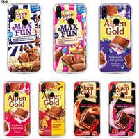 J&R Case For BQ 6040L Magic Silicone TPU Protective Chocolate Russian Cover For BQ 6040L Magic 5020 5059 5058 5050 4072 Coque