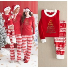 Family Matching Clothes Outfits Look Christmas Pajamas Set Father Mother Children's Sleepwear Clothing Christmas Family Pajamas