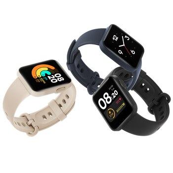 Xiaomi Mi Watch Lite Bluetooth Smart Watch GPS 5ATM Waterproof SmartWatch Fitness Heart Rate Monitor