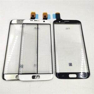 Image 2 - Ban đầu Các Bộ Phận Thay Thế Dành Cho Samsung Galaxy Samsung Galaxy S7 Edge G9350 G935 G935F Bộ Số Hóa Màn Hình Cảm Ứng Cảm Biến Kính Cường Lực