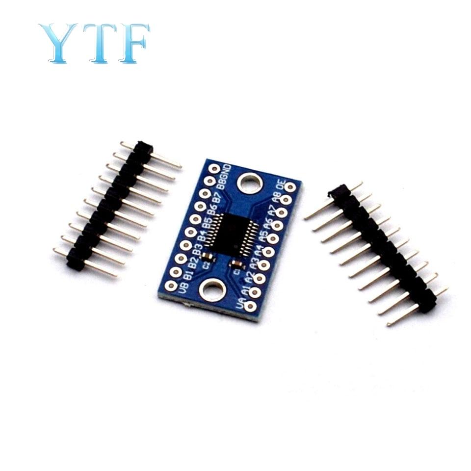 3.3V 5V TXS0108E 8 Channel Logic Level Bi-Directional Converter Module TXB0108 Mutual Convert Module TXS0108