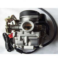 Carb Gy6-ciclomotor del carburador, Scooter Eléctrico de 50cc Gator 50 SUNL