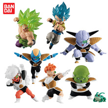 BANDAI ADVERGE MOTION 02 Collection Figure   Full Set 7 Pcs Gogeta Broly Ginyu Burtta Jees Recoom Ghourd