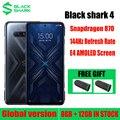 Глобальная версия Черная Акула 4 игровой Смартфон Snapdragon 870 120W быстрая зарядка 144 Гц Частота обновления Samsung E4 экран DC затемнения