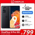 Чехол из ПВХ для OnePlus 9 Pro 5G смартфон 8 ГБ 128 Snapdragon 888 120 Гц жидкости Дисплей 2,0 Hasselblad 50MP ультра-широкий OnePlus официального магазина Carter's