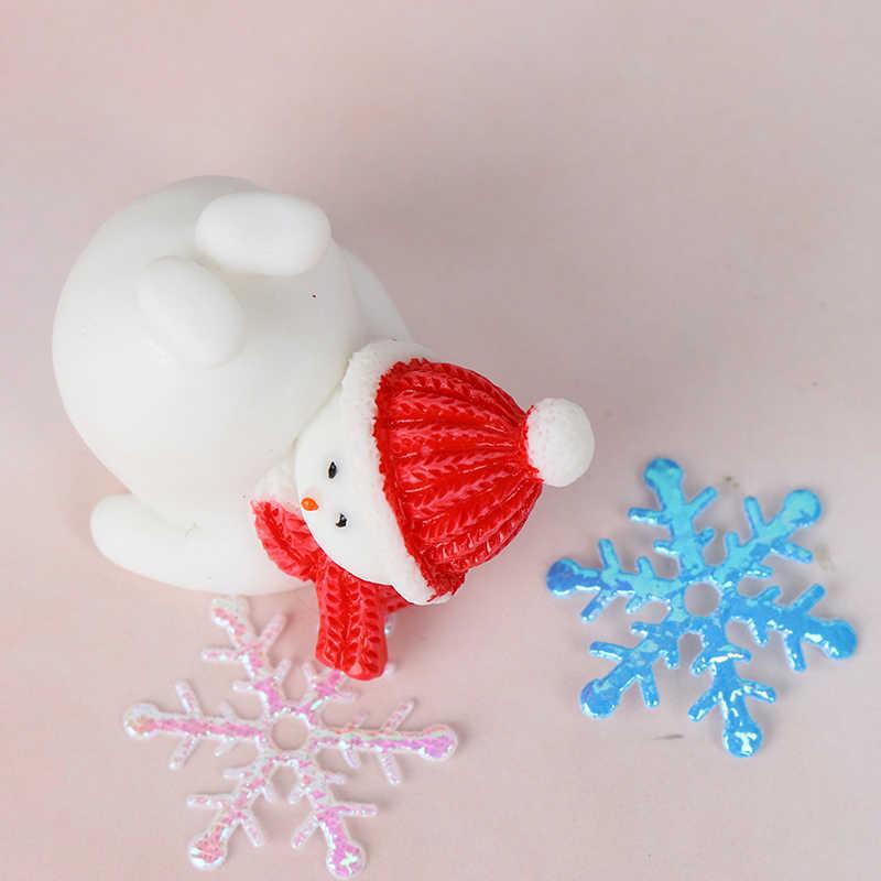 In Miniatura di Natale Albero di Natale Babbo Natale Pupazzi di Neve Regalo Scatola Terrari Accessori Fata Giardino Figurine Casa di Bambola Decorazione