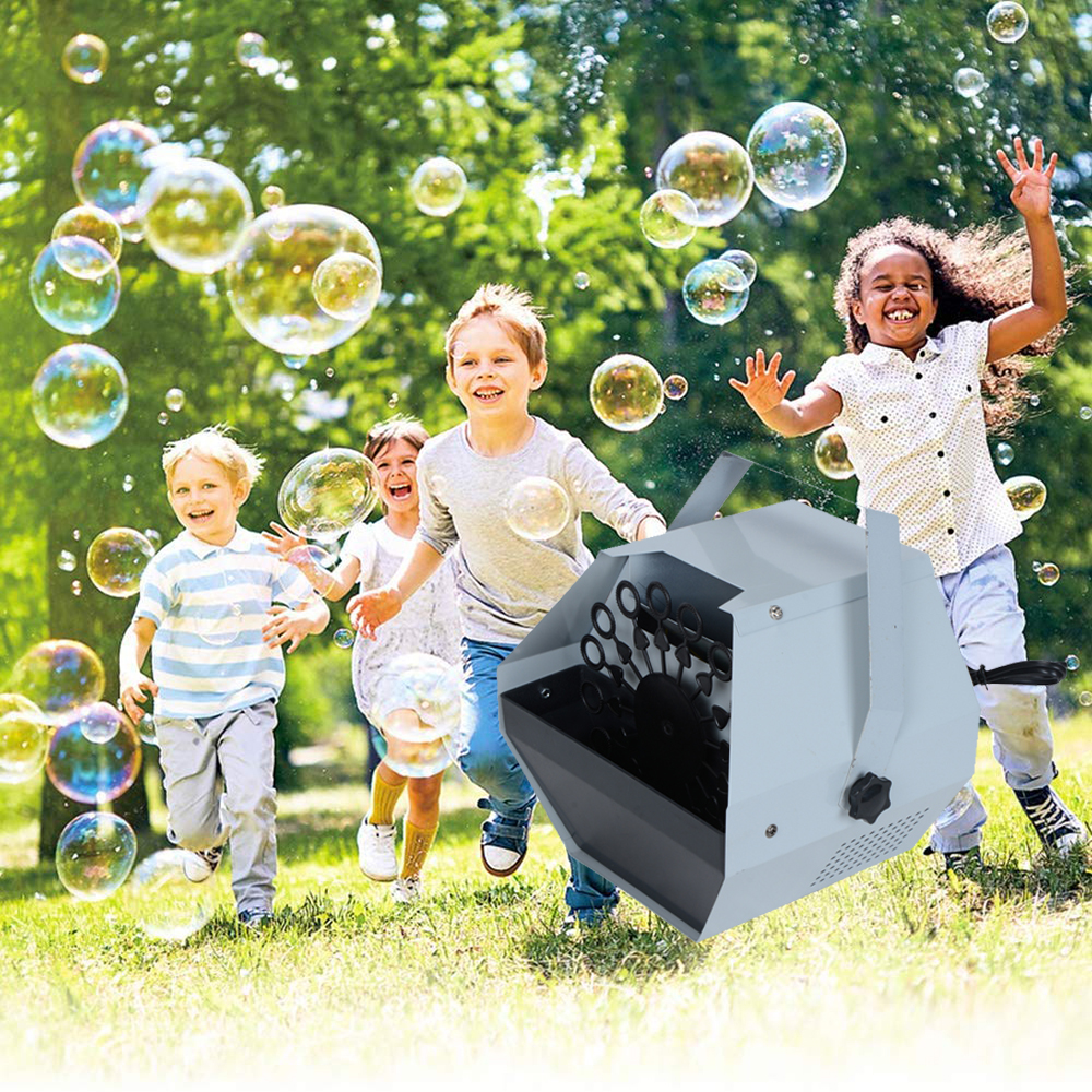 Dj Equipments Remote Control Bubble Machine Automatic Romantic Effect Light For Wedding Statge Light Party Christmas Decorations