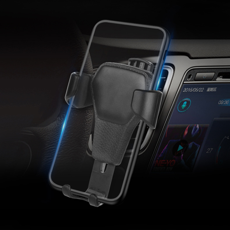 New Phone Holder Car Air Vent Gravity Design Mount Cradle Stand For Mobile Phone GPS