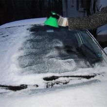 Авто волшебное окно лобовое стекло автомобиля скребок для льда прочный и практичный пластиковый конусовидный Deicer конус инструмент для размораживания