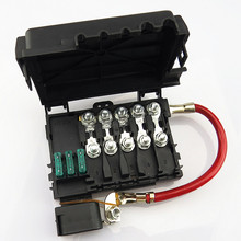 SCJYRXS 1J0937617D Fuse Box + Holder + Fuse Fuses for Golf Bora MK4 Beetle Seat Toledo 1J0 937 617D 1J0 937 550 AD 1J0937550AE стоимость