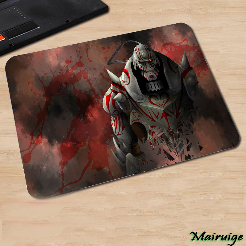 Full Metal Alchemist Popular Hot Anime Manga Diy Printed Mousepad Mini Pc Computer Rubber Table Mouse Pad For Decorate