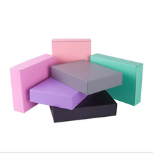 11 Sizes Colorful Three Layer Super Hard Paper Box Express Supplies Packaging Folded Gift Wedding 10pcs/lot
