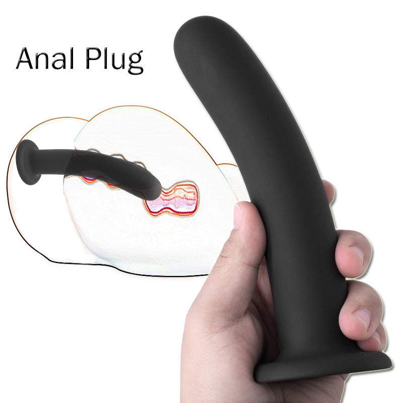 Men And Women Anal Dilator Butt Plug Anal Plugs Set Fake Penis Dildo Prostate Massager Sex Toys For Woman Erotic Intimate Goods