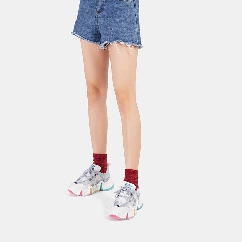 Women Shoes Sneakers Women Casual Fashion Breathable Walking Mesh Flat Shoes Woman White 2020 Tenis Feminino Gym Shoes Sport