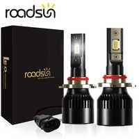 New arrival LED Headlight Blubs LED H7 H4 H1 H11 H3 H13 H27 880 9005 9006 CSP Chips 12V 6000K 12000LM/Pair Lamp Auto Bulb Light