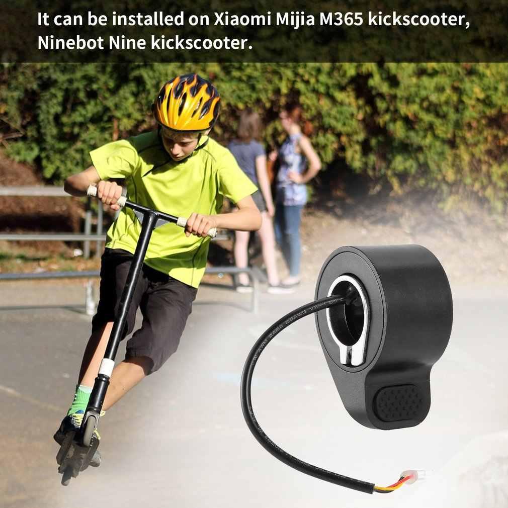 Offre spéciale Promotion NY85019 accélérateur pédale contrôle de vitesse vélo électrique en plastique métal pouce accélérateur Scooter accessoires