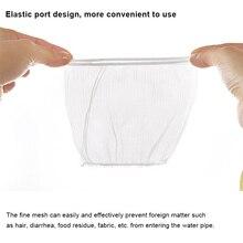 30/50/100 шт раковина сливное отверстие для мусора сетчатый фильтр одноразовый мешок для мусора для Ванная комната Кухня AIA99