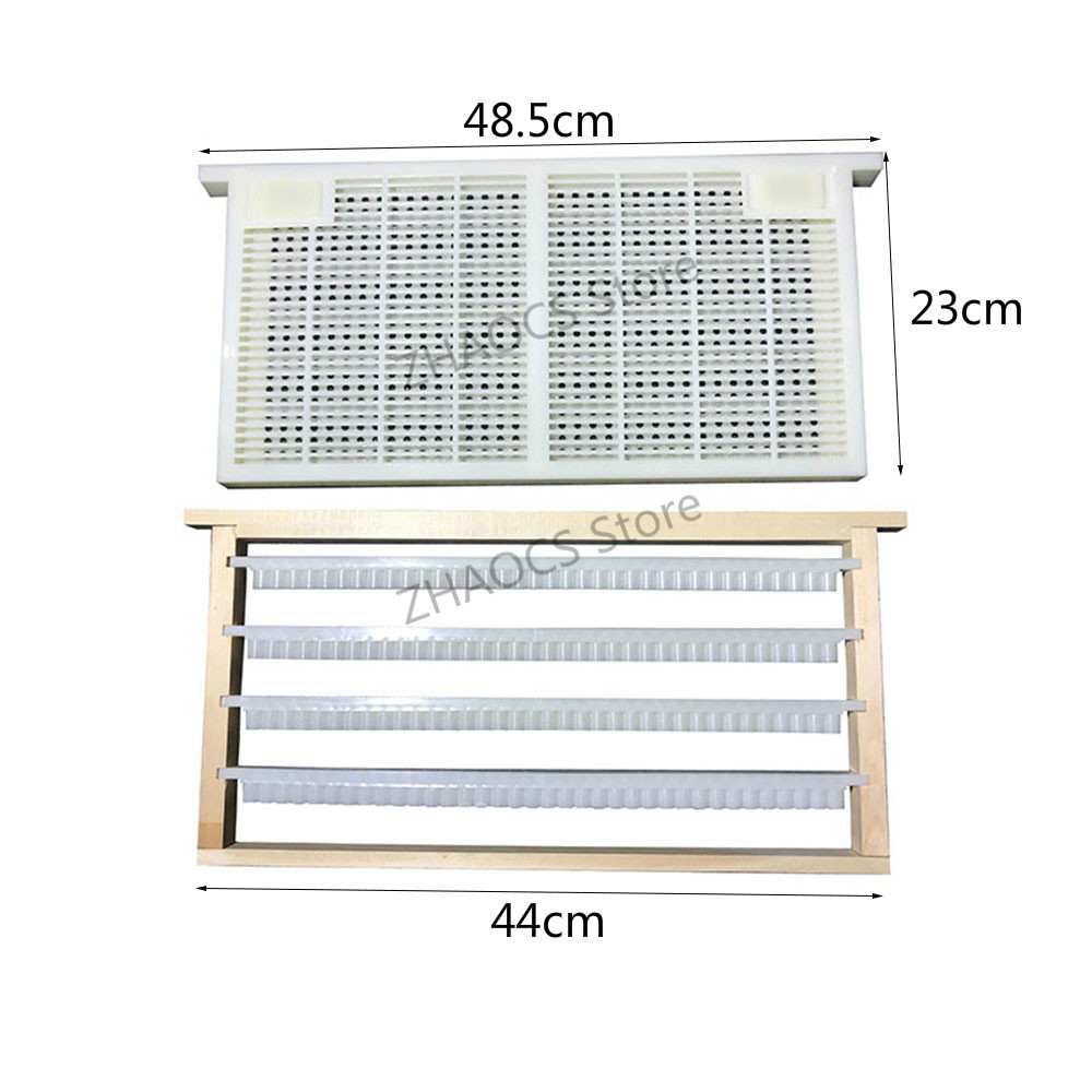 Plastic Queen Rearing System Beekeeping Grafting Kit Tool Royal Jelly Squeegee Pen Cultivating Box Cell Cups Beehive Box Entrance Gate