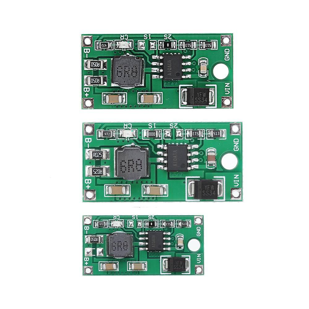 2A 1S/2S/3S Synchronous Buck Li-Ion Charger DC 5-23V To 4.2V 8.4V 12.6V Power Supply Module For 3.7V 7.4V 11.1V 18650 Lithium Ba