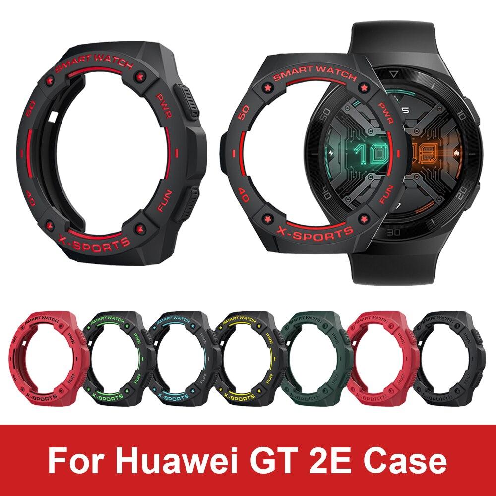 Kleurrijke Tpu Case Voor Huawei Gt 2E Smart Horloge Accessoires Voor Huawei GT2e Beschermhoes Shell