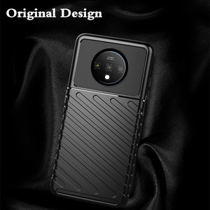 Image 5 - for Oneplus 7T Case 7T Pro Cover TPU for Oneplus7t 7tpro Back Coque One Plus 7 T Shockproof 1+7t MOFi Anti Knock Full Edge