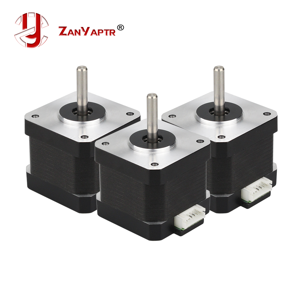 CE Certificatio 4-lead Nema 17 Stepper Motor 42 Motor 1.68A 3D Printer Motor