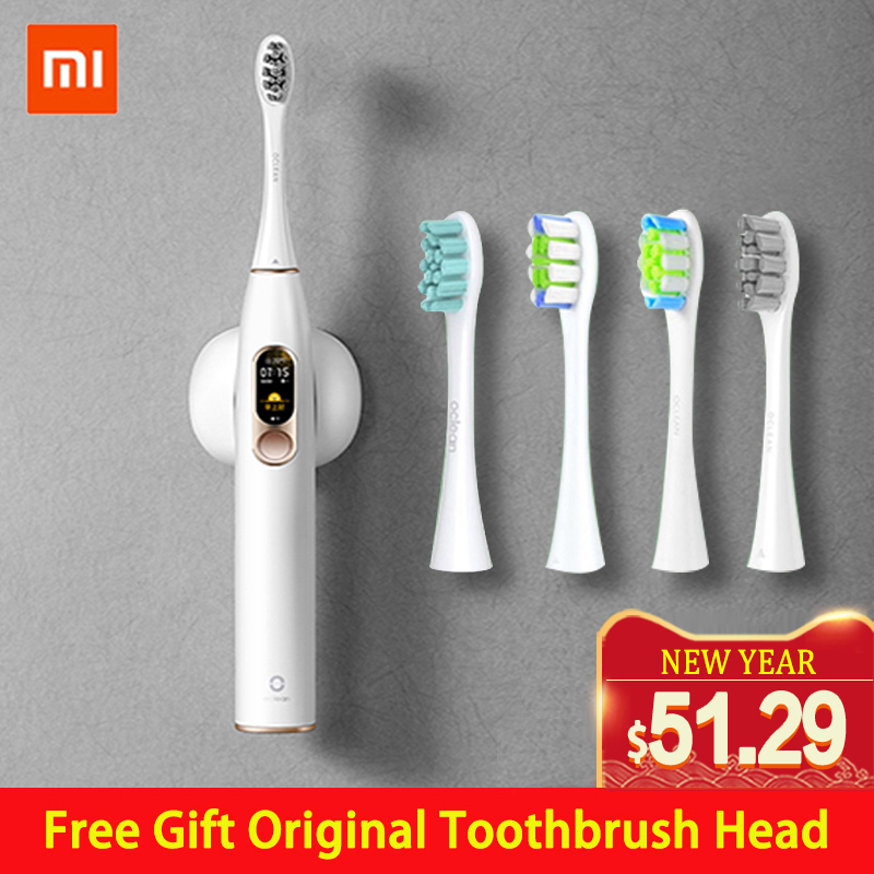 Global Version Mijia Oclean X Sonic Electric Toothbrush Adult Waterproof Ultrasonic Automatic Fast Charging Tooth Brush