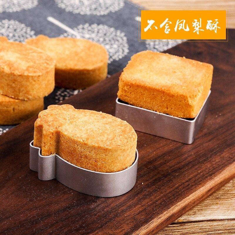 Форма для печенья из нержавеющей стали, «сделай сам», плоская квадратная форма, прямоугольная форма в форме ананаса, резак, формы для выпечки, инструменты для выпечки, домашняя посуда для выпечки Формы для тортов    АлиЭкспресс - форма для выпечки